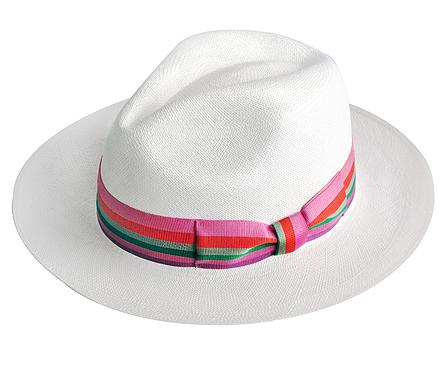 premium-panama-hat-AA-italian-Bow-pink-multicolor