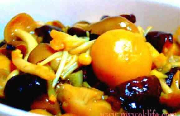 Stir-fried Assorted Asian Mushrooms