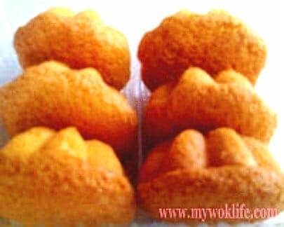 Steamed egg cakes
