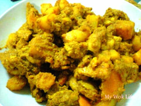 Dry Curry Pork