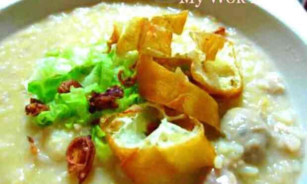 Pork Congee (猪肉粥)