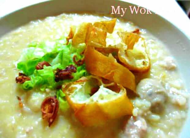 Mixed Pork Porridge