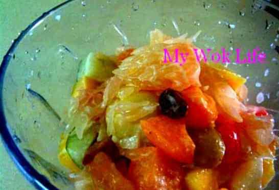 Pomelo Cocktail Fruits Salad
