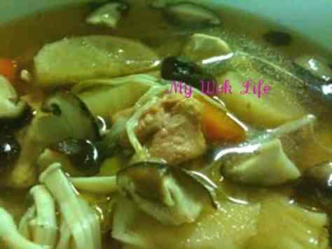 Chicken Stew Soup