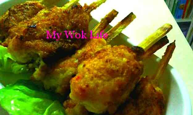 Sugar Cane Fish Meat Drumsticks