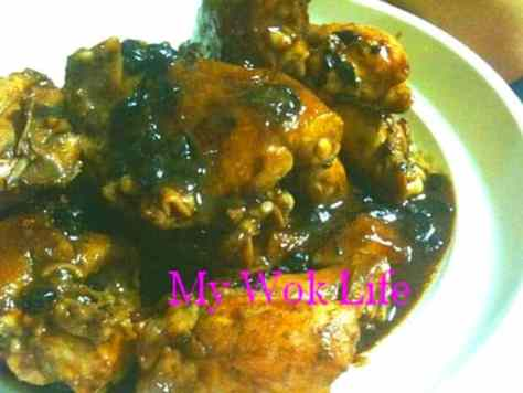 Chicken in Black Bean and Soy Bean Paste