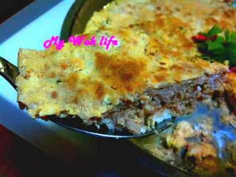 Steamed Minced Pork & Tofu