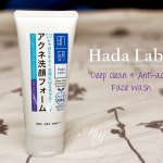 Deep Clean & Blemish Control : A new face wash from Hada Labo is put through its paces
