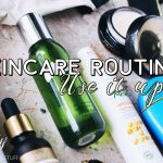 My Skincare Routine September 2017 : Use it up or lose it! Products I have emptied