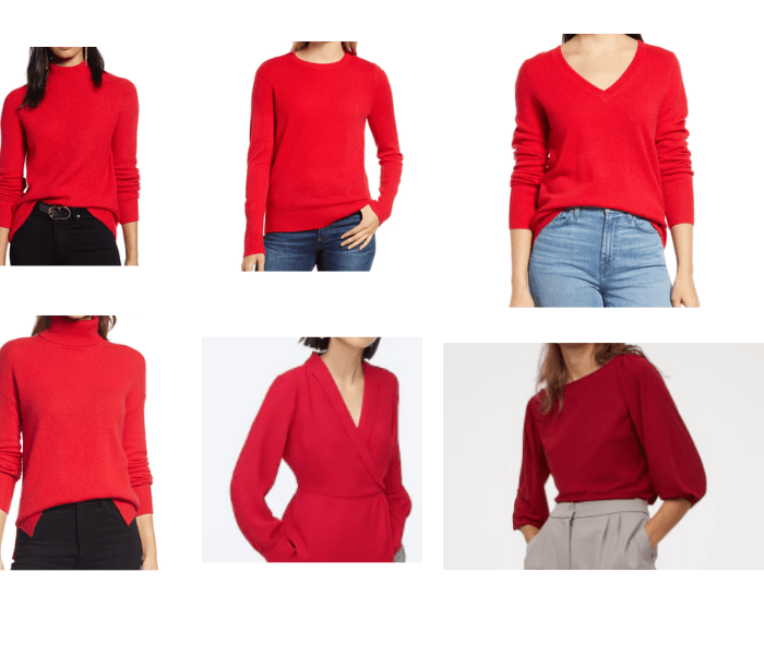 Red Tops for Chinese New Year to Bring You a Year of Luck