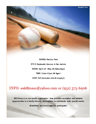 Baseball Flyer Archives Microsoft Word Templates