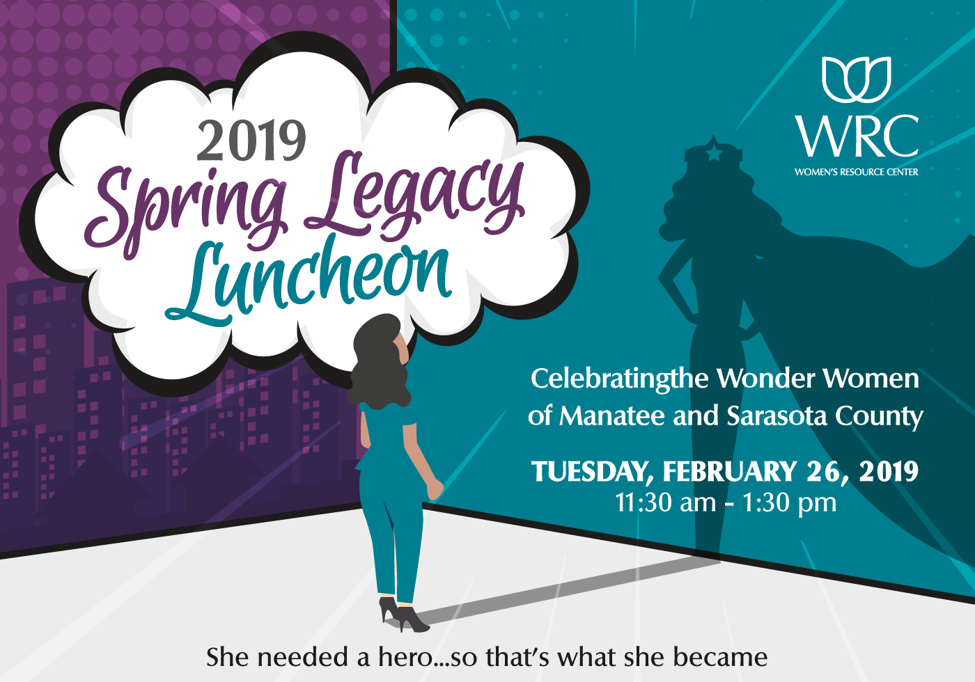 2019 Spring Legacy Luncheon | Women's Resource Center