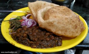 Image result for om bhature wala