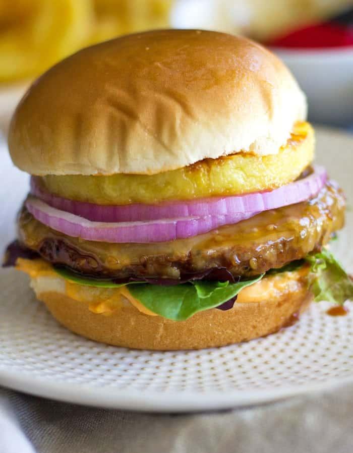 Spicy Hawaiian Teriyaki Turkey Burgers My Zen Kitchen