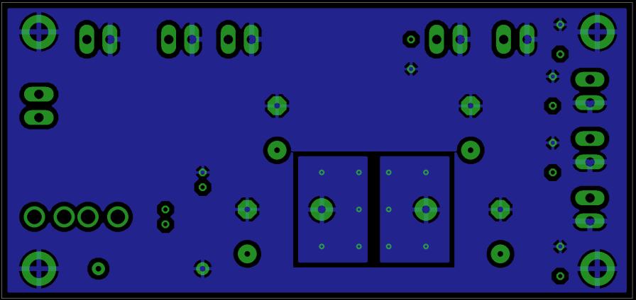 Power Distribution PCB Bottom