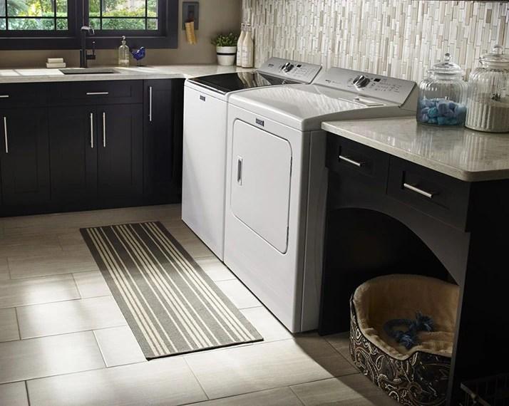 maytag kitchen appliances zinc table laundry shop home