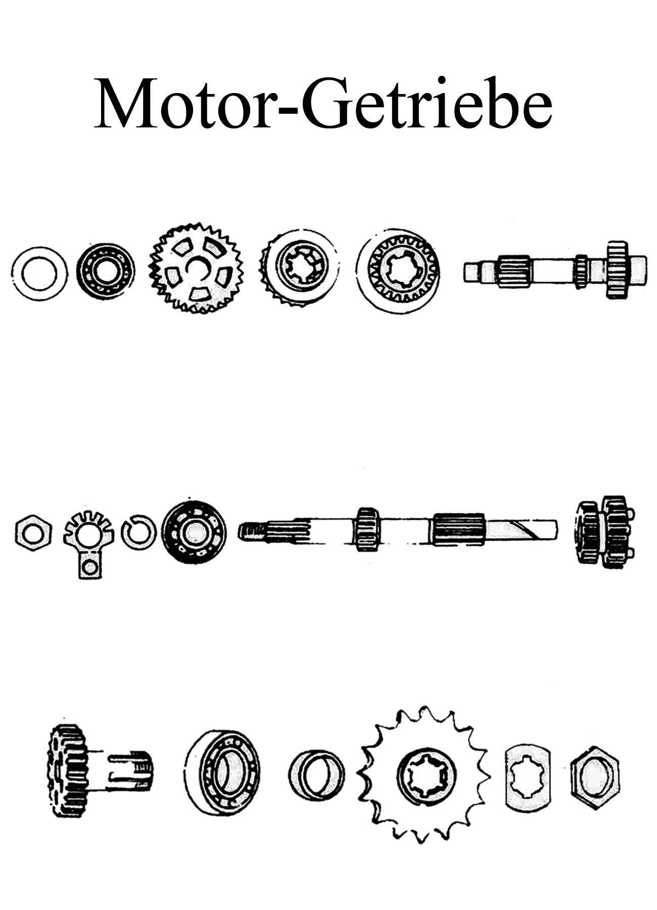 MZ TS 125 150 250 250/1 Ersatzteile