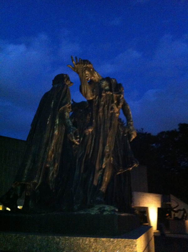 The Burghers of Calais Auguste Rodin Bronze