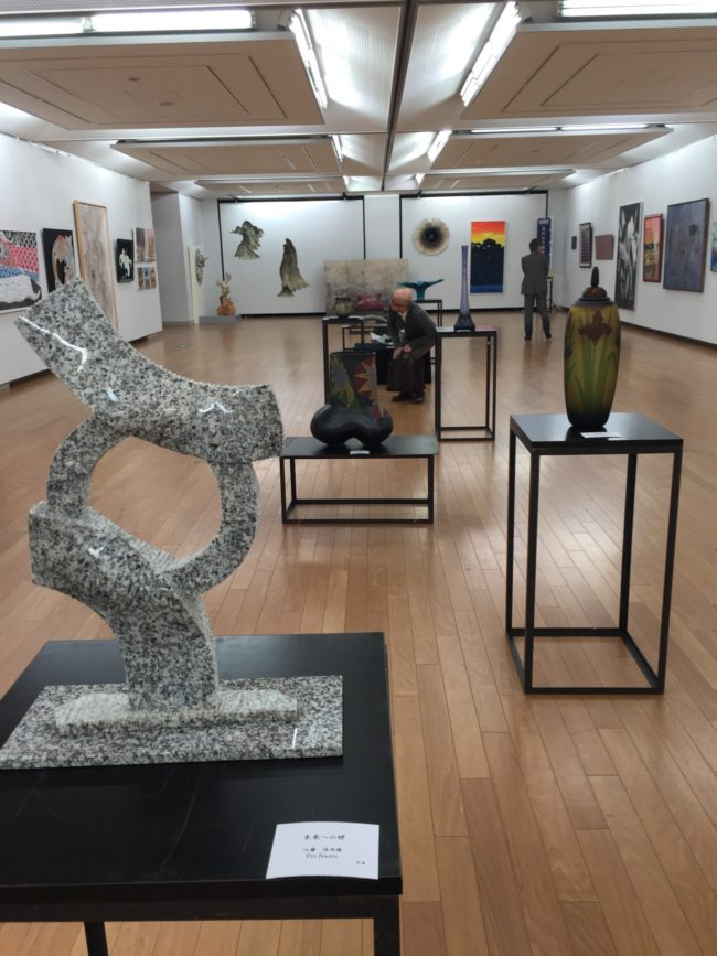 Ceramics, Glass,  and Sculpture at the 30th Kyoto Art Festival: International Exhibition of Art 2016