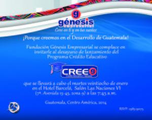 Invitacioìn Lanzamiento Cree 2014
