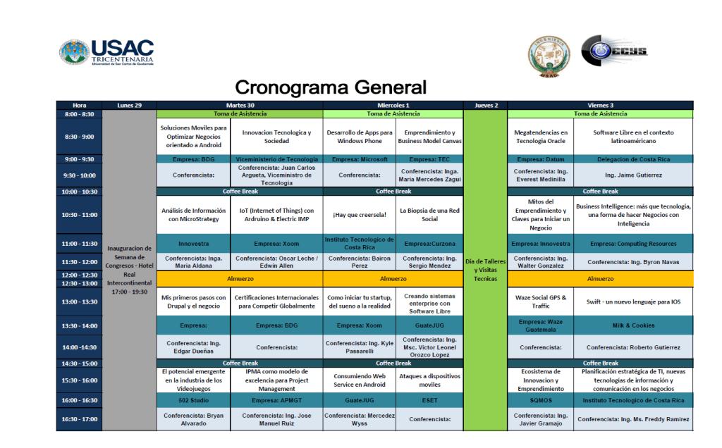 CronogramaCOECYS_2014