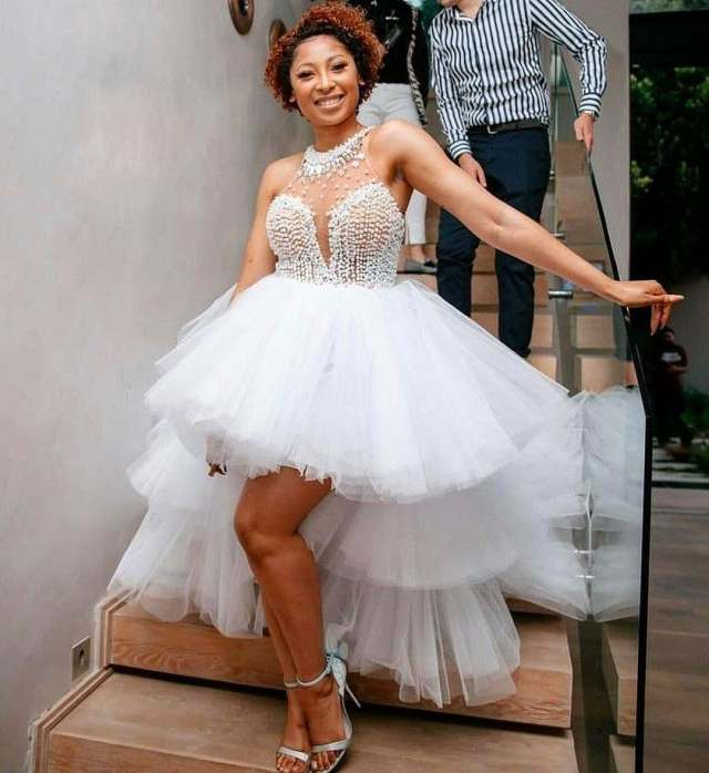 Enhle Mbali's stunning Birthday party