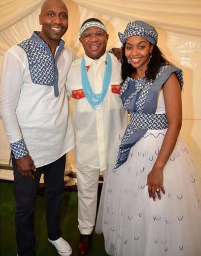 Lucas Radebe and Thobela Silver Wedding