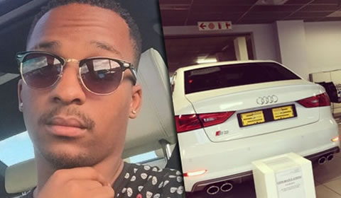 Ntokozo Dlamini buys new car