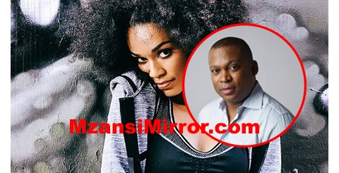Pearl Thusi and Robert Marawa Engagement