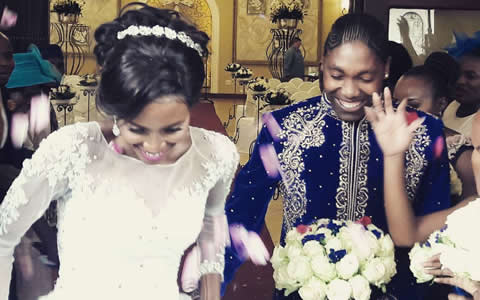 Caster Semenya's Wedding