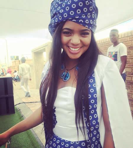 Isibaya actress Florence Mokgatsi's traditional wedding
