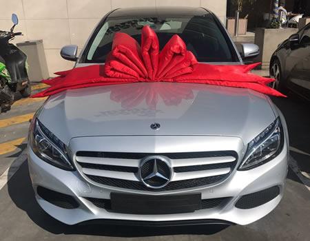 Thando Thabethe buys her Mom a Mercedes Benz