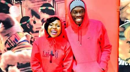 Reneilwe Letsholonyane and Mpho Maboi