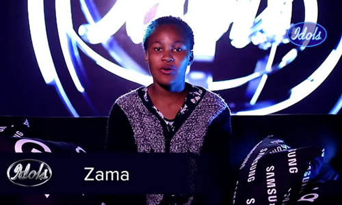 Zama Khumalo's Profile on Idols SA Season 16