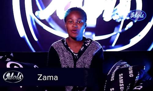 Zama Khumalo's Profile on Idols SA Season 16