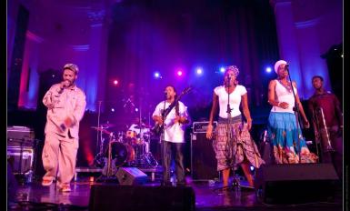 Azania Band on Stage