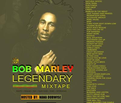 Bob Marley legendary Mixtape