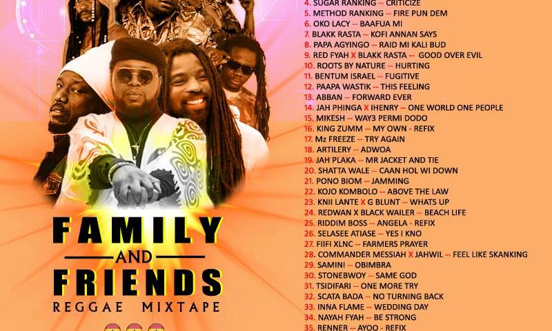 Family and Friends Reggae Mixtape by Nana Dubwise
