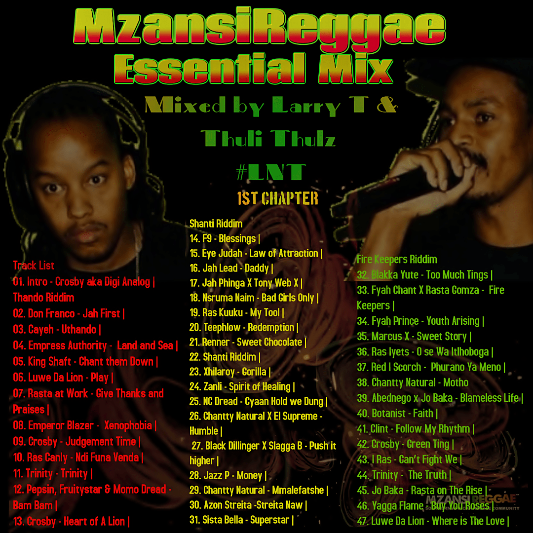 Mzansi Reggae Essential Mix by LNT Sound