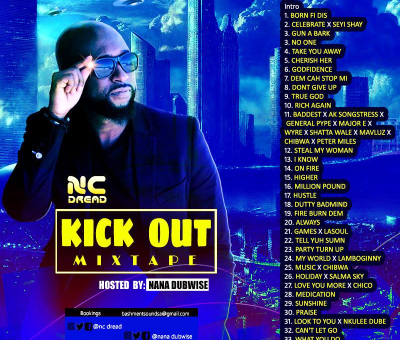 NC Dread Kick Out Mixtape