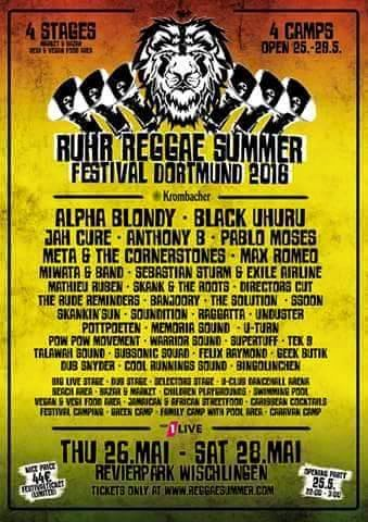 Ruhr Reggae Festival - Skank and the Roots