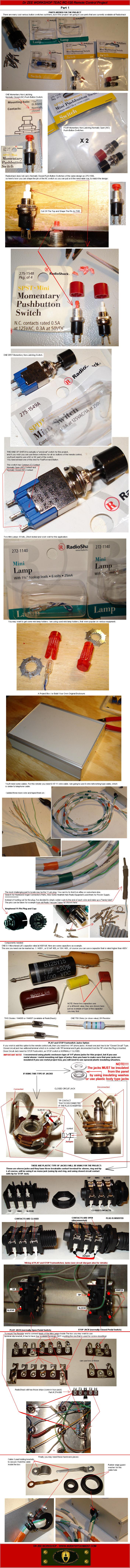 medium resolution of teac rc 120 remote control diy project part 1 components