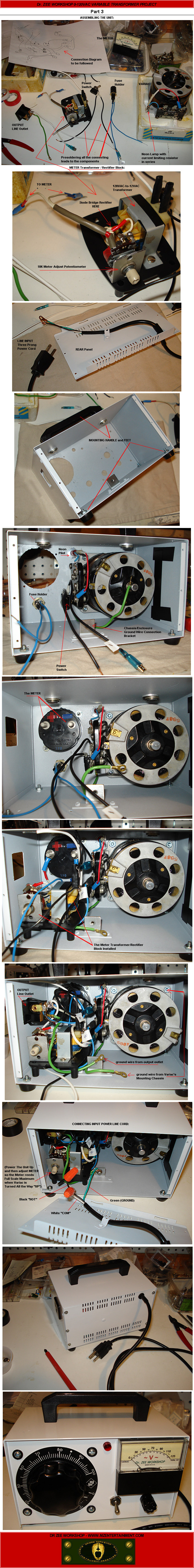 medium resolution of dr zee workshop variac circuit and wiring diagram powerstat variable transformers 21 22 40 series installation operation and maintenance