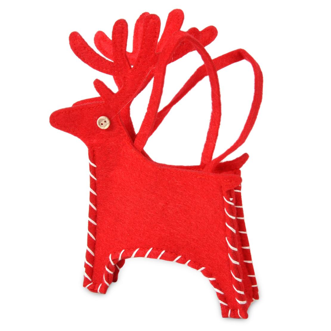 christmas chair back covers ebay big saucer santa toilet cover gift bag sock party