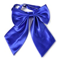 Fashion Women Girl Bow Tie Neckwear Party Banquet Solid
