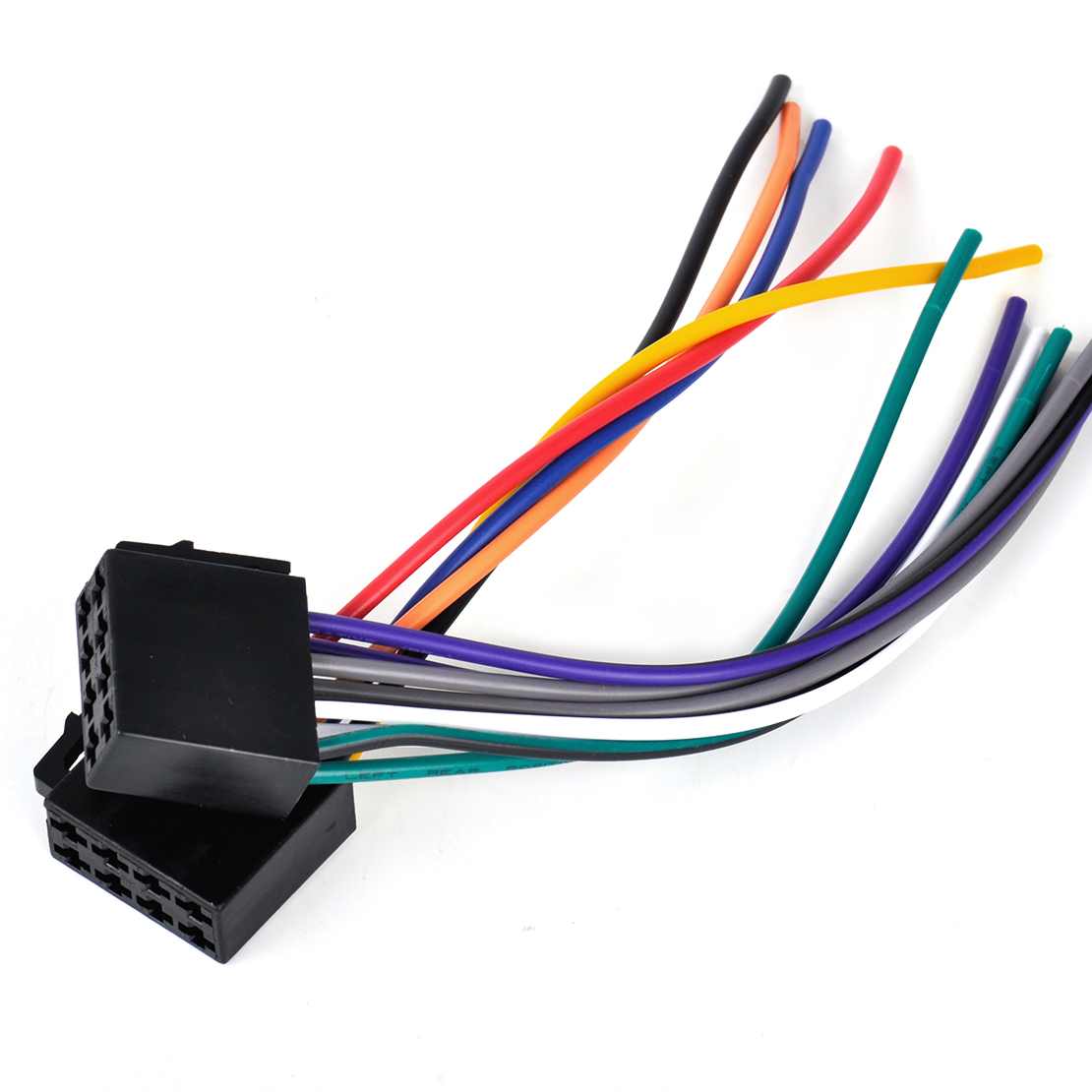 hight resolution of details about universal car stereo radio female iso plug adapter wiring harness connector
