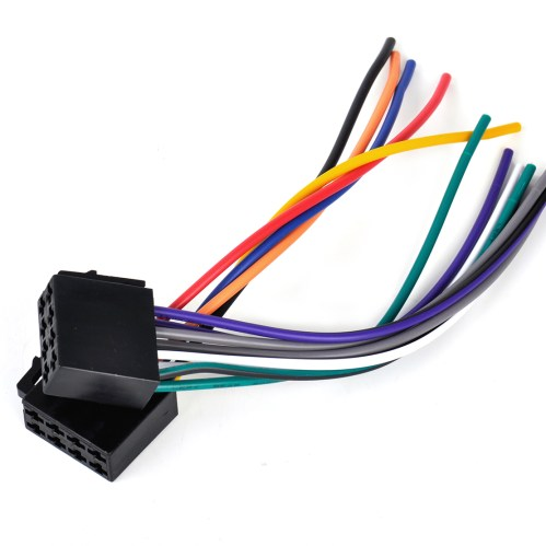 small resolution of details about universal car stereo radio female iso plug adapter wiring harness connector