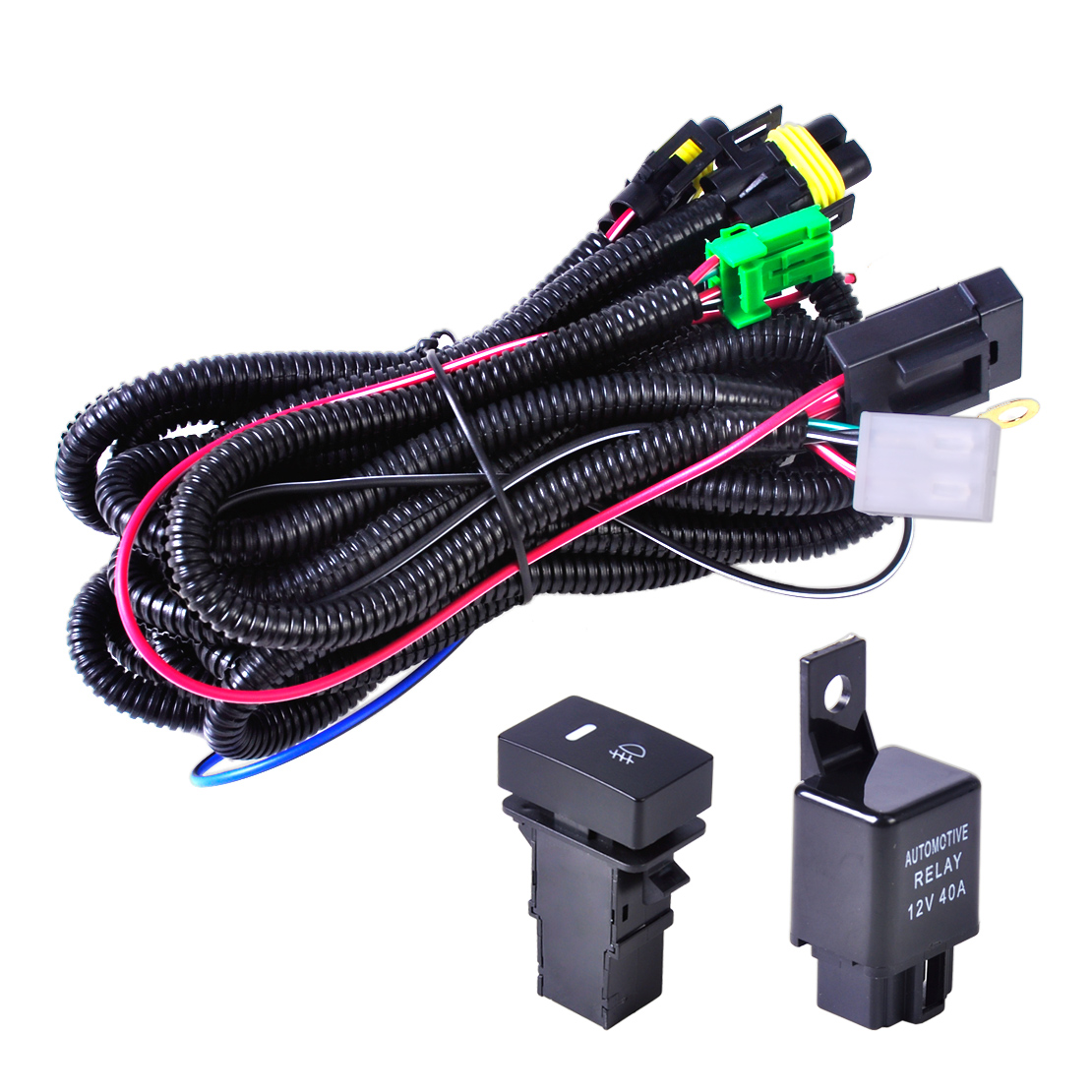 Wiring Harness For Driving Lights Furthermore Mustang Fog Light Wiring