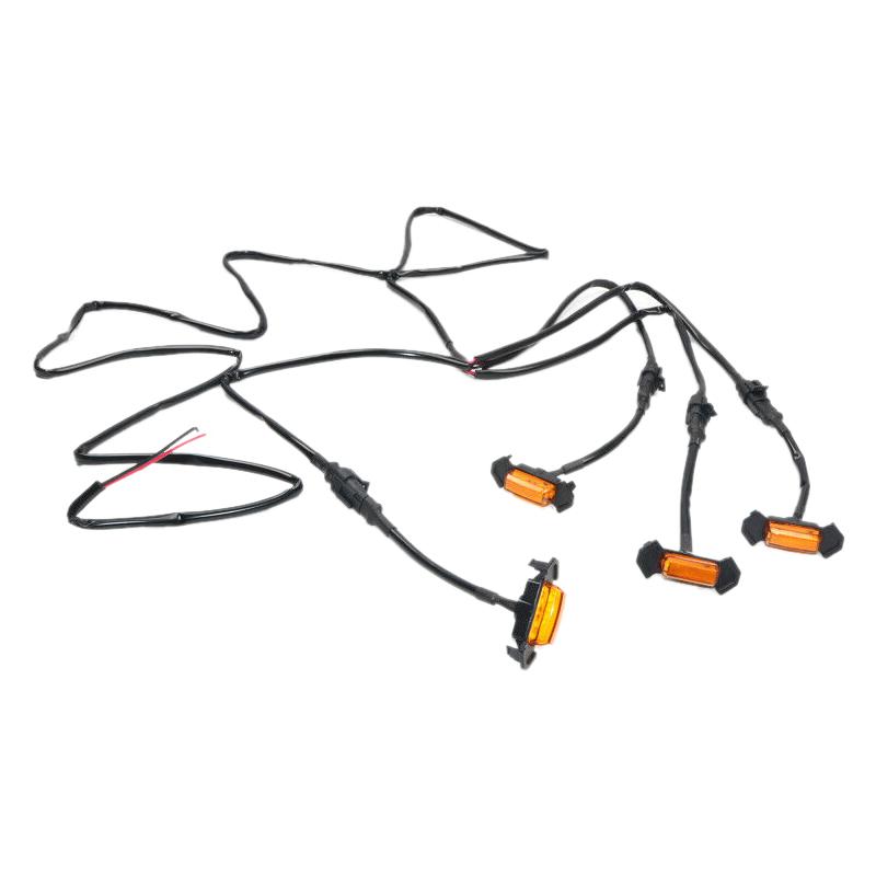 4pcs LED Amber Grille Lighting Kit Fit For Toyota Tacoma