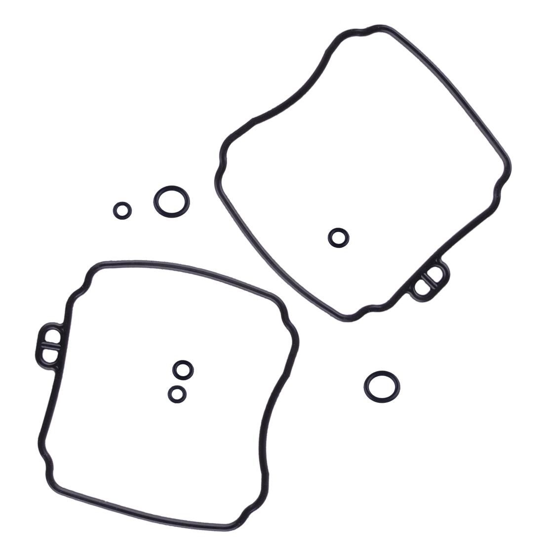 4x Carburetor Repair Kit & 4 Plunger Diaphragm Set Fit for